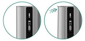 iStick TC100W - pulsador de calada