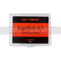 100 coil 0.4 ohmios Kanthal