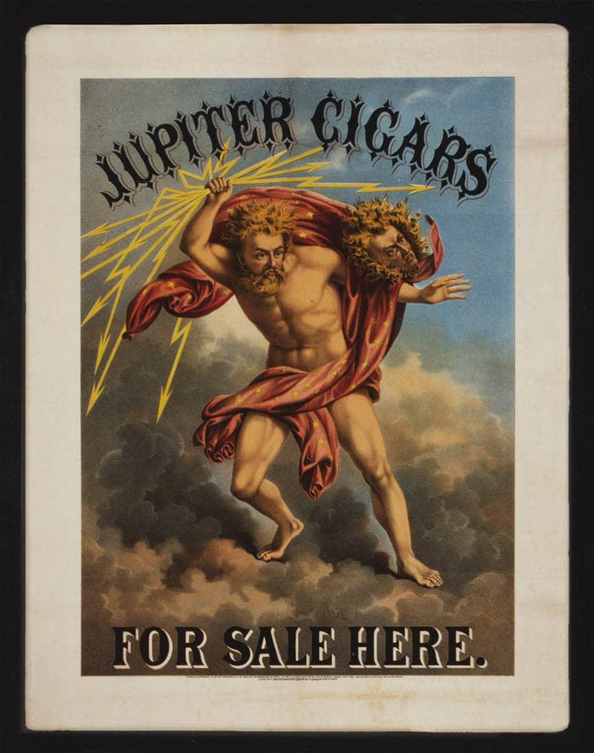 ===Litografias del tabaco=== Jupiter-Cigars