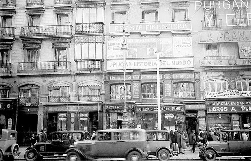 Madrid me mata historia de espa a a o 1907 a 1969 y for Gran via puerta del sol madrid
