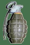 Perros de guerra, granada