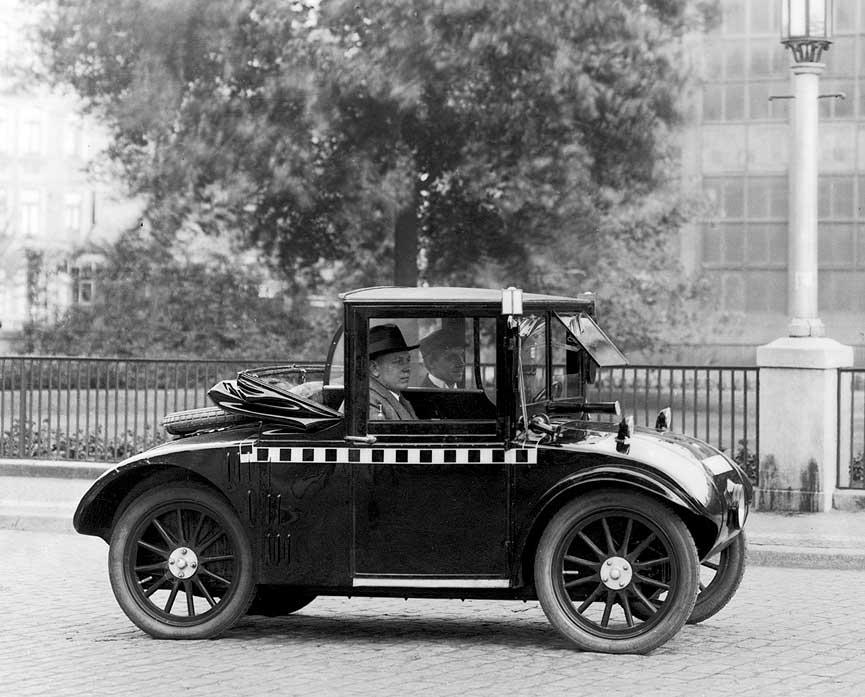 Extraños vehículos mini del pasado Midget_Hanomag