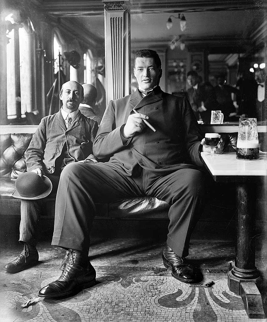 Taberna de Nueva York en 1908