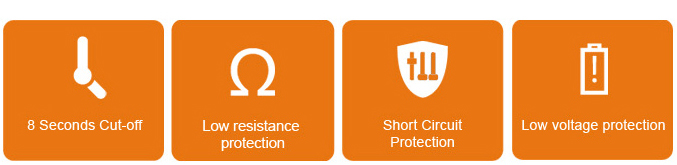 Vape Pen 22 - protecciones automáticas