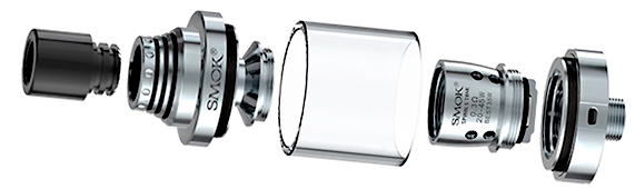 Atomizador Spirals Smok- estructura desmontable