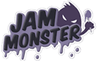 Logo líquidos Jam Monster