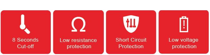 Smok Stick X8 kit - protecciones automáticas