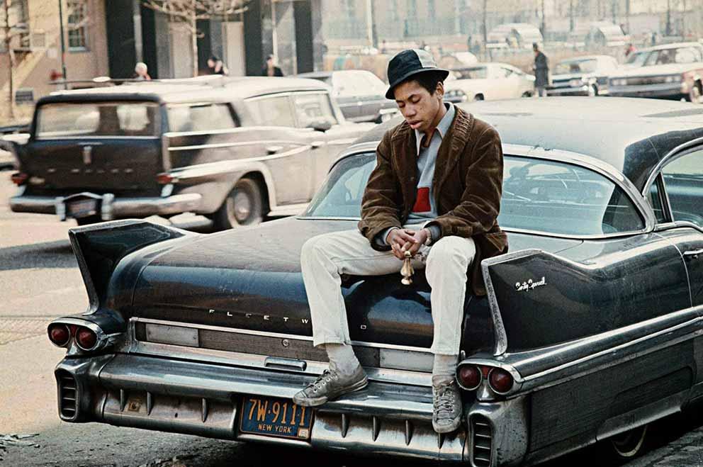 Imágenes de la vida en Harlem a mediados del siglo XX