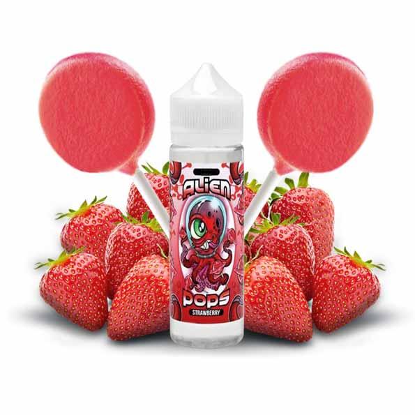 Alien Pops Strawberry