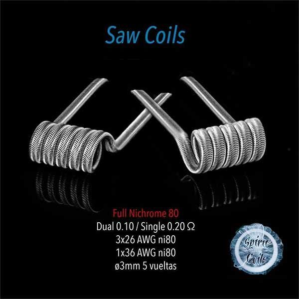 Spirit Coils Saw Coils