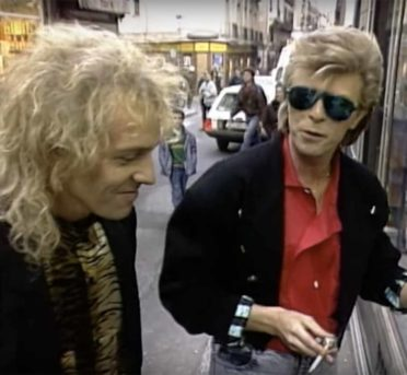 David Bowie y Peter Frampton, 1987