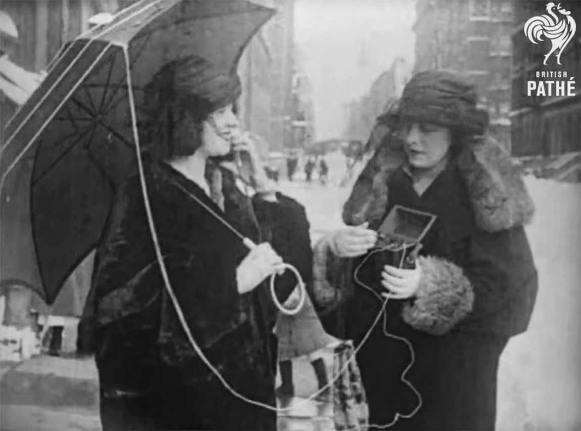 El primer teléfono inalámbrico del mundo