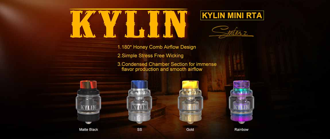Comprar Kylin Mini RTA, colores disponibles