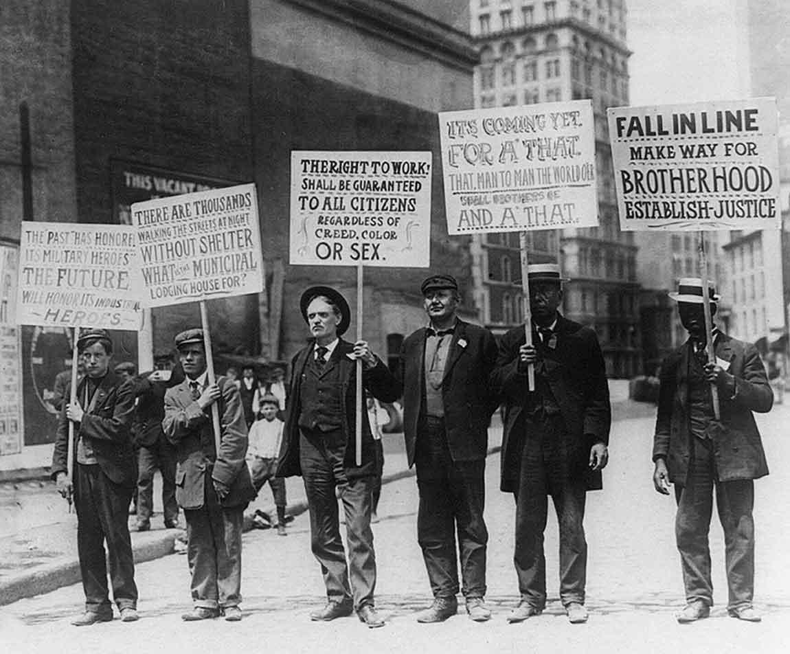 Desempleados en la primera mitad del siglo XX - El paro hace 100 años