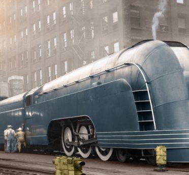 Streamliner Mercury: un excelente ejemplo de diseño Art Deco
