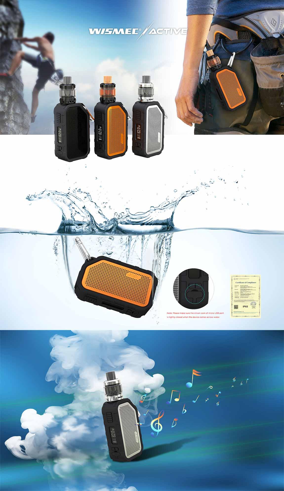 Wismec Active kit - características