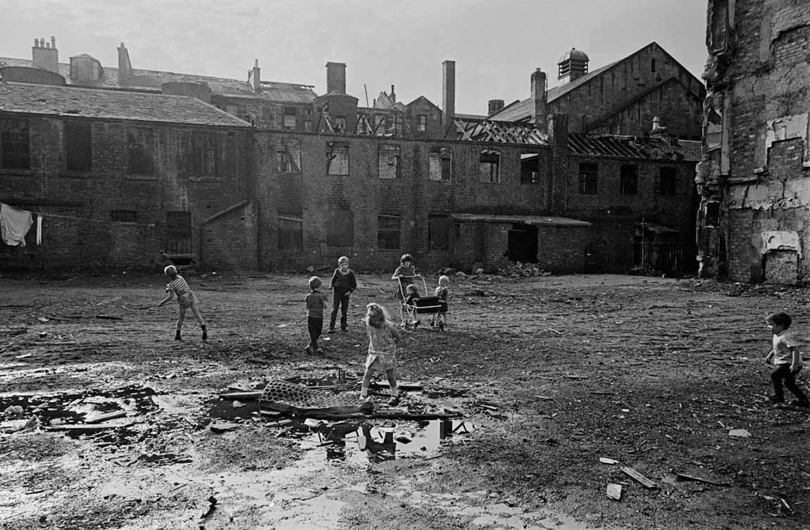 La vida en los viejos bloques de viviendas de Glasgow. 1969-1972
