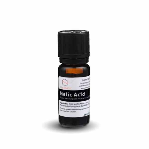 ChemNovatic Molécula ácido málico