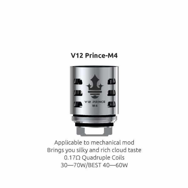 Resistencia Smok V12 Prince M4