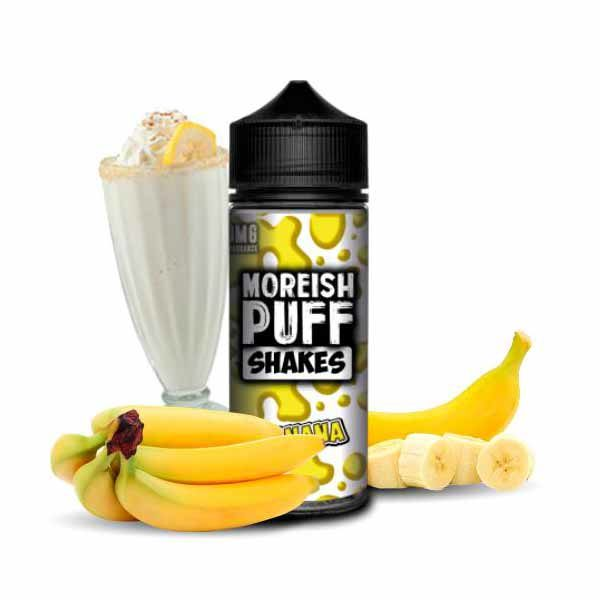 Shakes Banana Moreish Puff
