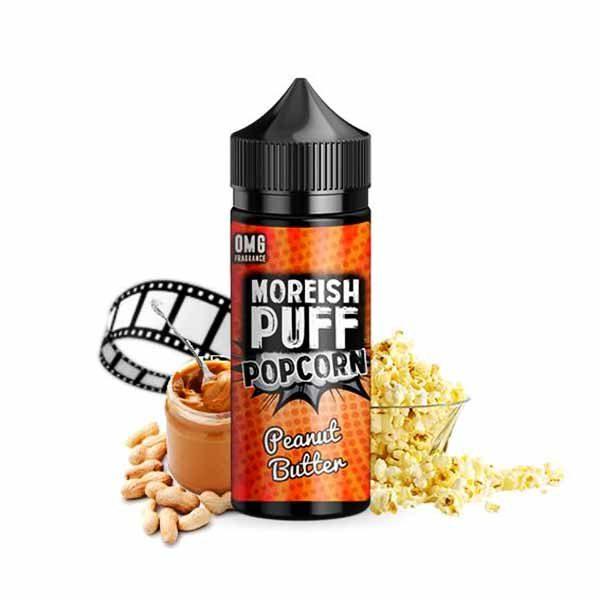 Moreish Puff Popcorn Peanut Butter