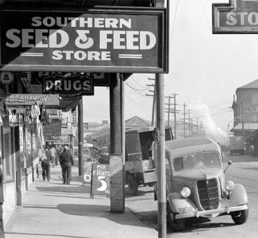 Waterfront New Orleans. Gran Depresión