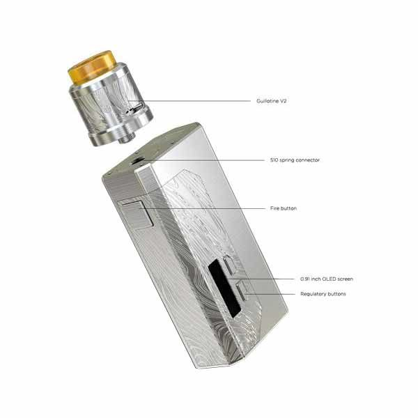 Wismec Luxotic MF kit estructura