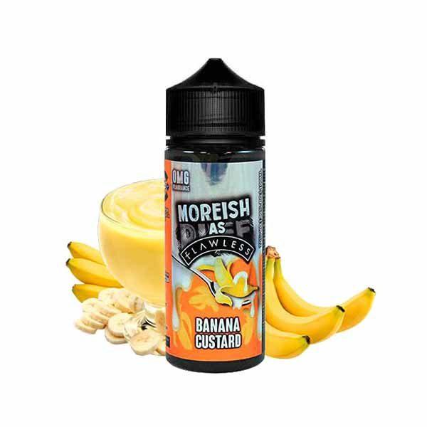 Moreish Puff Flawless Banana Custard