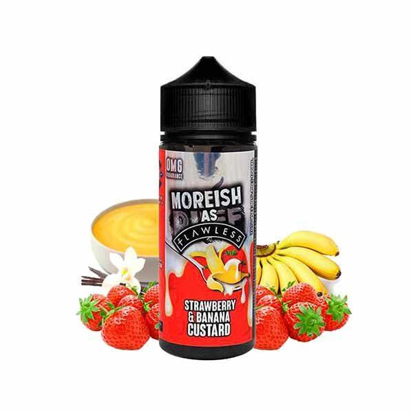 Moreish Puff Strawberry Banana Custard