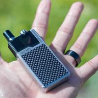 Lost Vape Orion DNA GO 40W kit Silver Carbon Fiber tamaño