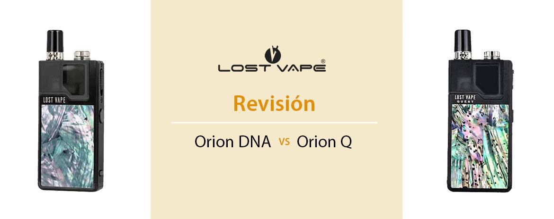 Lost Vape Orion Dna vs Orion Q Revision