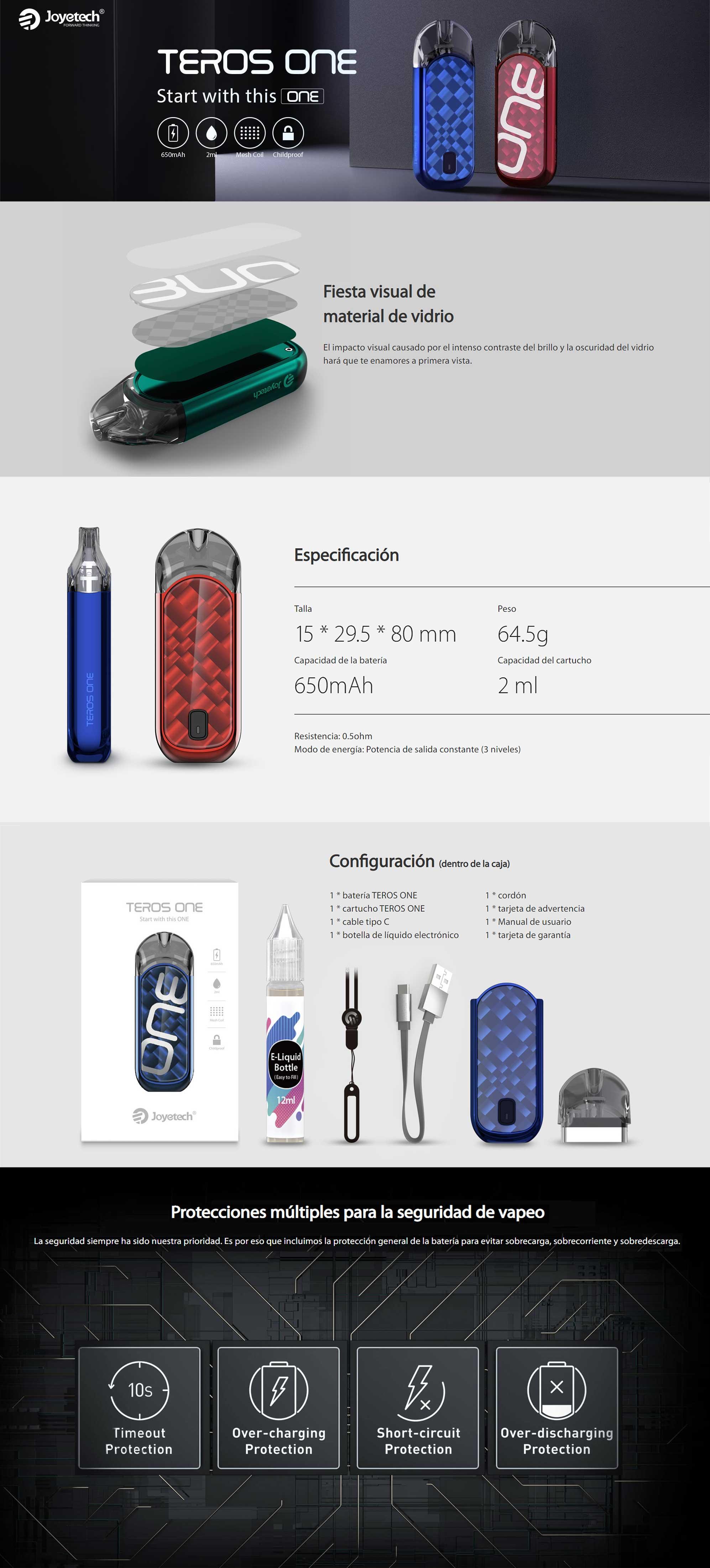 Joyetech Teros One Kit, detalle