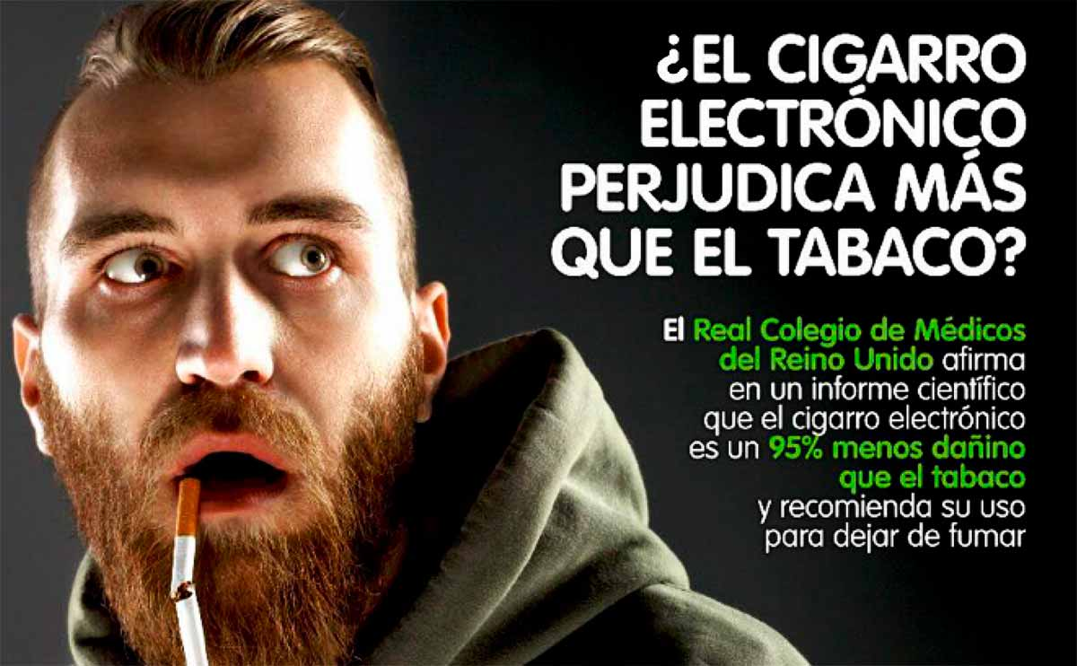 Es beneficioso o perjudicial el cigarrillo electrónico para dejar ...