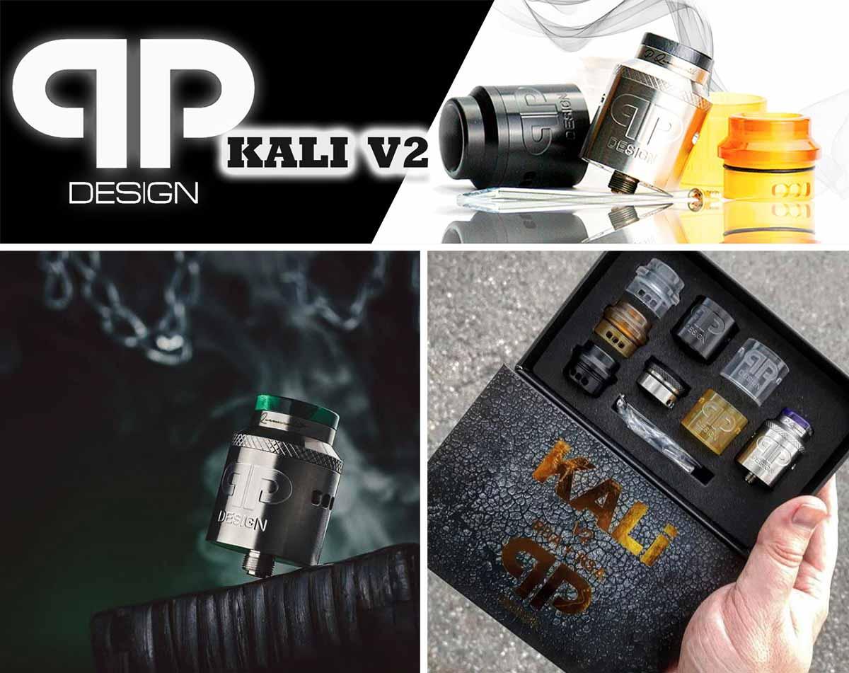 QP Design Kali V2 RDA, características
