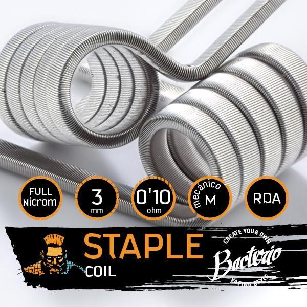 Bacterio Coils Staple Full N80 características