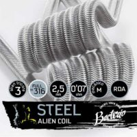 Bacterio Coils Steel Alien características