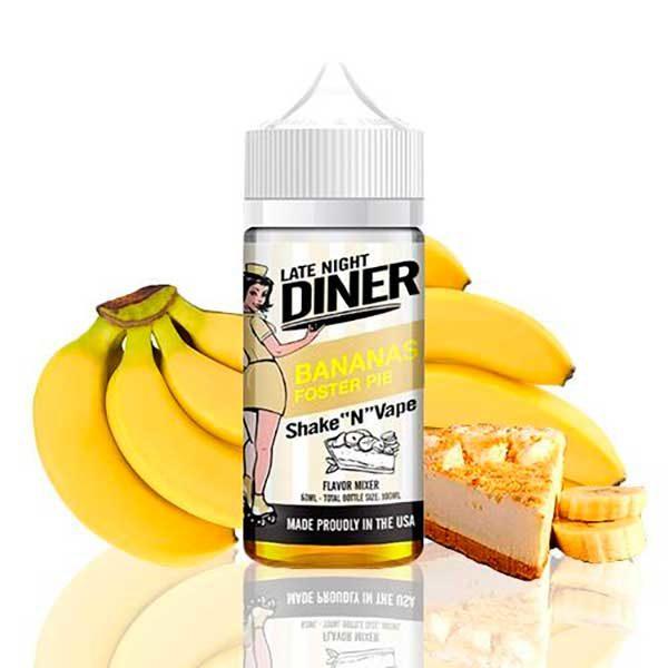 Late Night Diner Bananas Foster Pie