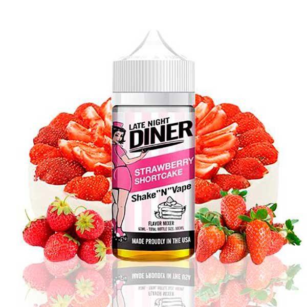 Late Night Diner Strawberry Shortcake