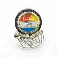 Coiland Staggered Fused Clapton Ni80