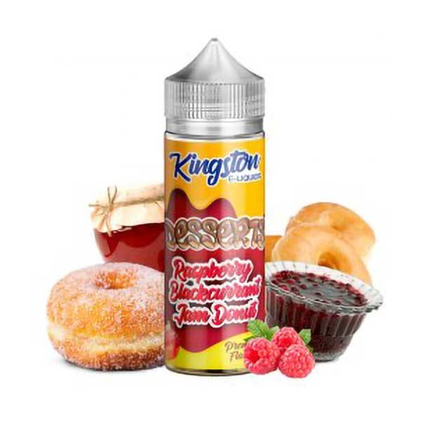 Raspberry Blackcurrant Donut