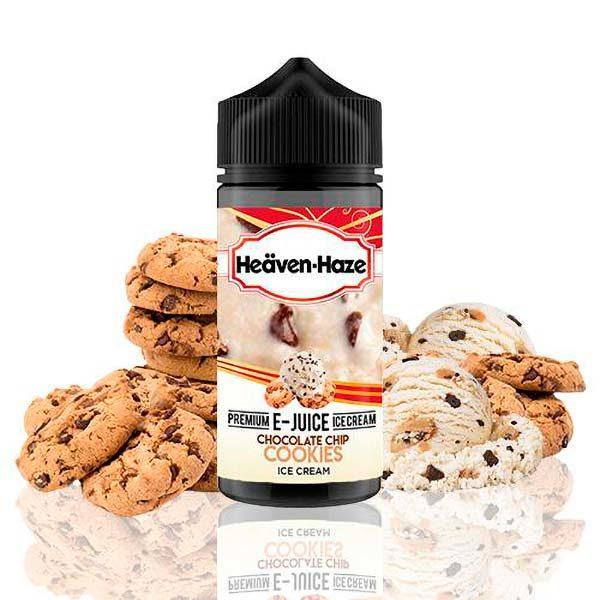 Heaven Haze Chocolate Chip Cookies Ice Cream