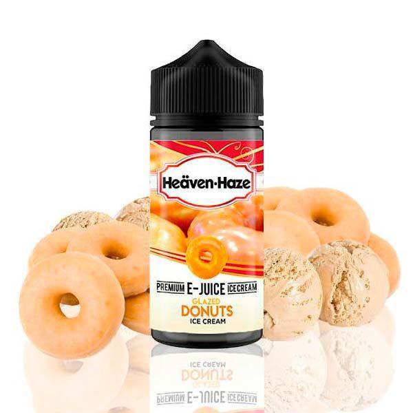 Heaven Haze Glazed Donuts Ice Cream